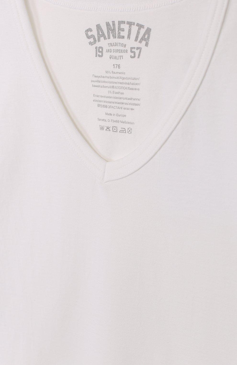 Хлопковая футболка | Фото №3