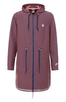 Удлиненная куртка на молнии NikeLab x Pigalle | Фото №1