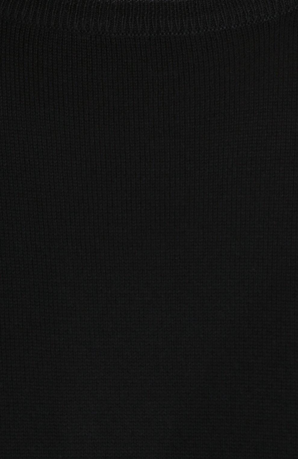 Джемпер из шерсти тонкой вязки   Фото №5