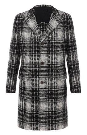 Однобортное пальто из смеси шерсти и кашемира с шелком | Фото №1