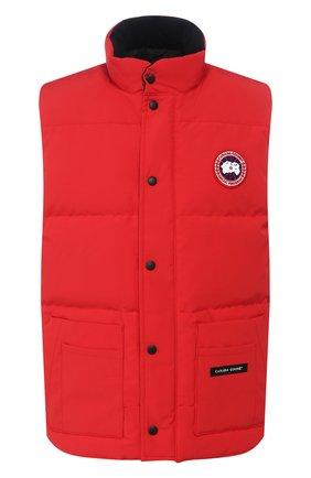 Мужской пуховый жилет freestyle crew CANADA GOOSE красного цвета, арт. 4154M | Фото 1