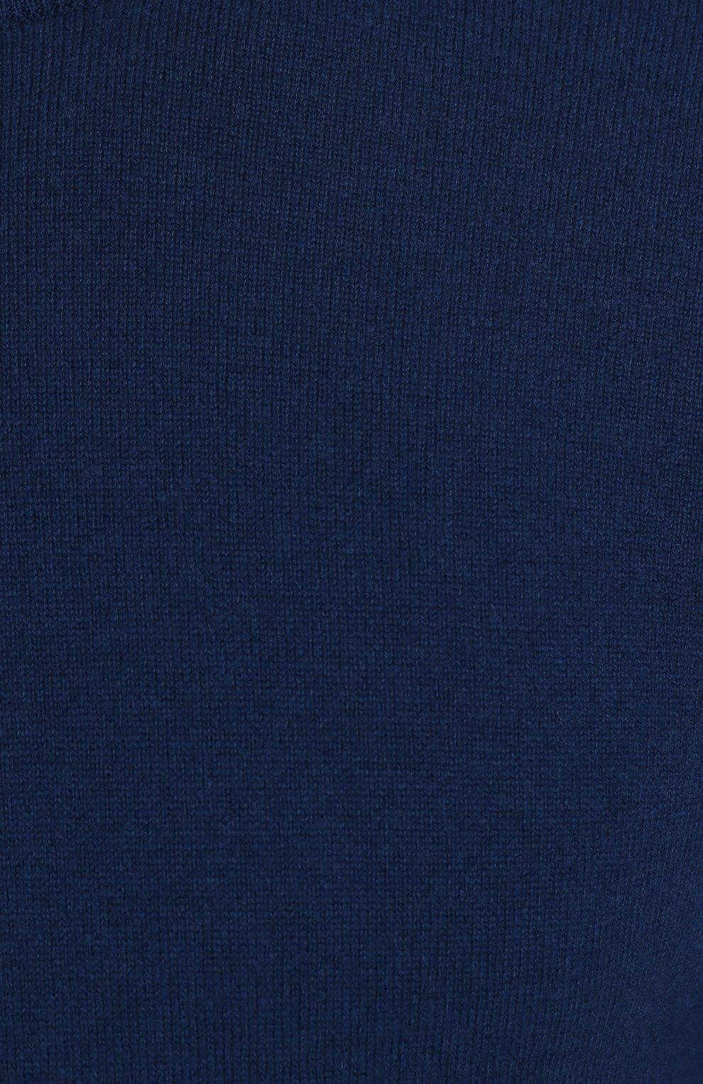 Однотонный кашемировый джемпер | Фото №5