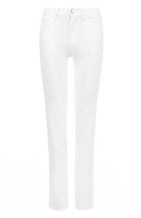 Однотонные джинсы прямого кроя Dolce & Gabbana белые | Фото №1