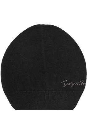Вязаная шапка с надписью | Фото №1