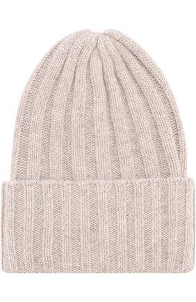 Вязаная шапка из шерсти и кашемира | Фото №1