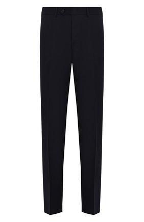 Мужские шерстяные брюки CANALI темно-синего цвета, арт. 71012/AN00019   Фото 1