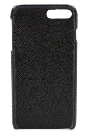 Мужской кожаный чехол для iphone 7 plus DOLCE & GABBANA черного цвета, арт. 0115/BP2264/AI359 | Фото 2