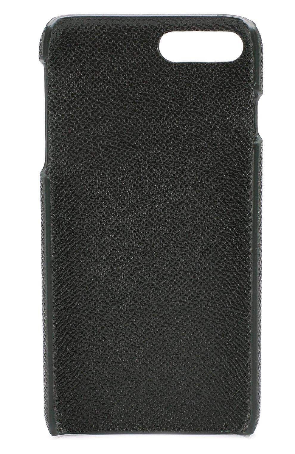 Кожаный чехол для iPhone 7 Plus Dolce & Gabbana  | Фото №2