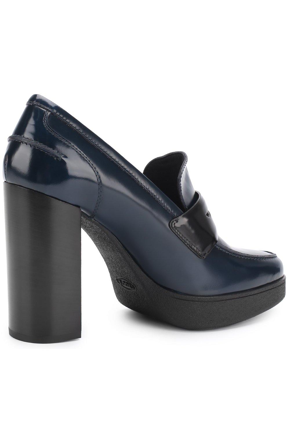 Лаковые туфли с перемычкой | Фото №4