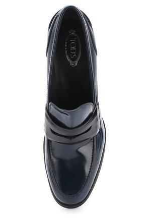 Лаковые туфли с перемычкой | Фото №5