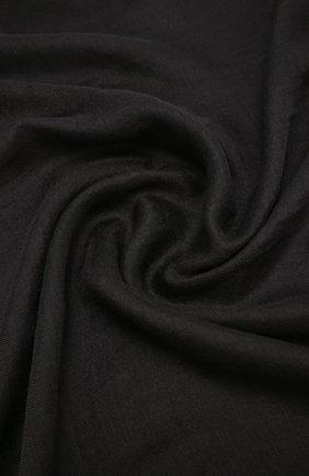 Женский платок из смеси кашемира и шелка COLOMBO черного цвета, арт. S90/70X200/2501-U   Фото 2