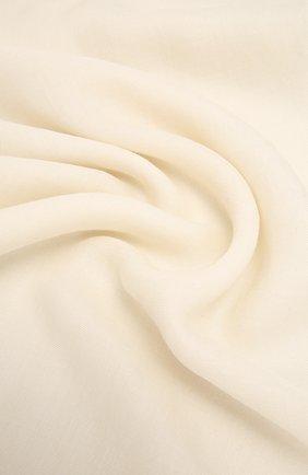 Женский платок из смеси кашемира и шелка COLOMBO белого цвета, арт. S90/70X200/2501-U | Фото 2