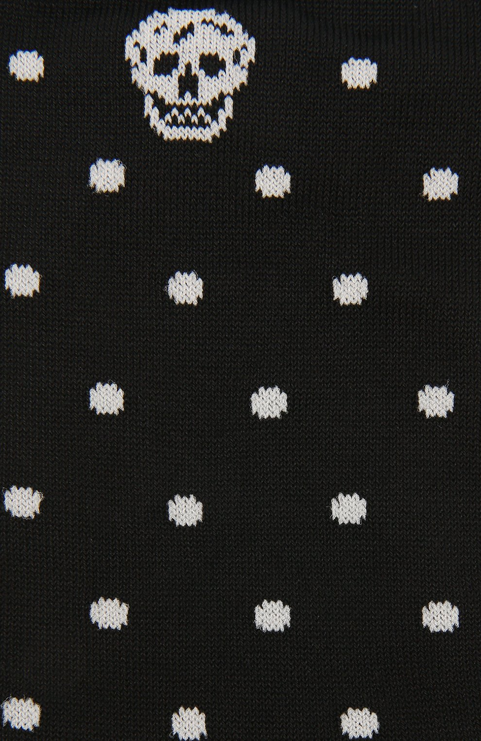 Хлопковые носки с узором Polka Dot   Фото №2