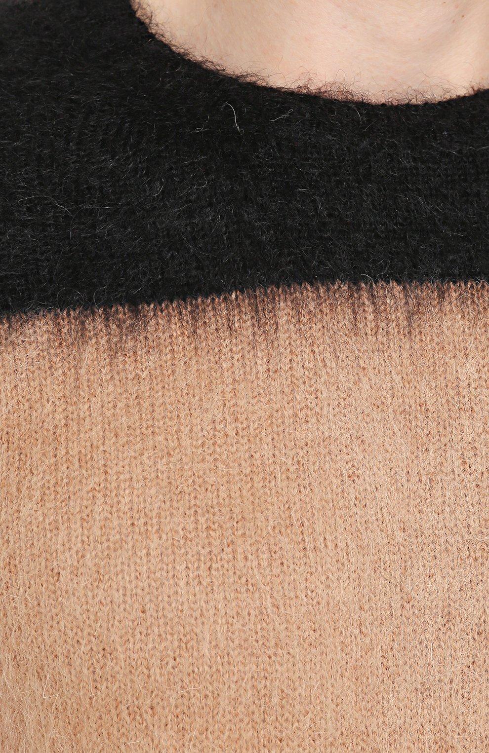 Шерстяной джемпер с контрастной отделкой | Фото №5