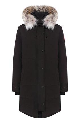Женский пуховик shelburne CANADA GOOSE черного цвета, арт. 3802L | Фото 1