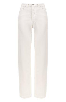 Широкие джинсы с завышенной талией | Фото №1
