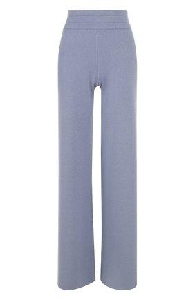 Расклешенные кашемировые брюки malo голубые | Фото №1