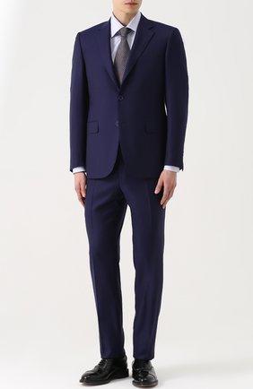 Мужская классическая сорочка из смеси хлопка и шелка BRIONI светло-сиреневого цвета, арт. RCL9/0602P | Фото 2