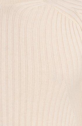 Кашемировая водолазка фактурной вязки   Фото №5