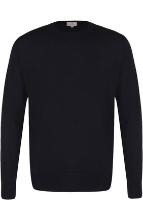 Мужской шерстяной джемпер CANALI темно-синего цвета, арт. C0012/MK00077 | Фото 1