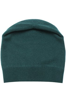 Кашемировая шапка бини Dolce & Gabbana зеленого цвета | Фото №2