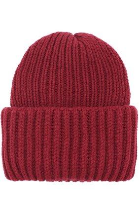 Вязаная шапка из шерсти   Фото №1