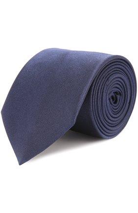 Детский шелковый галстук DAL LAGO синего цвета, арт. N300/168/III | Фото 1