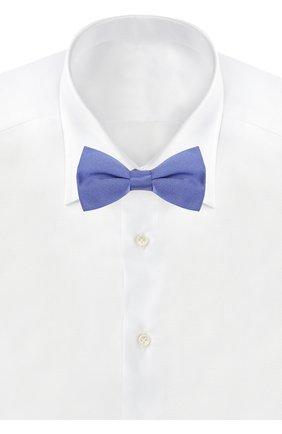 Шелковый галстук-бабочка Dal Lago красного цвета | Фото №1