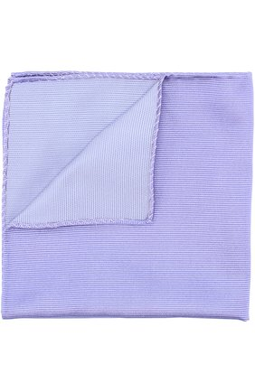 Мужской однотонный шелковый платок GIORGIO ARMANI фиолетового цвета, арт. 360023/7A901 | Фото 1
