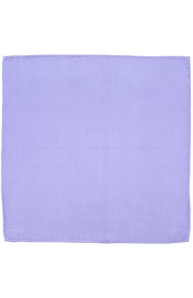 Однотонный шелковый платок | Фото №2