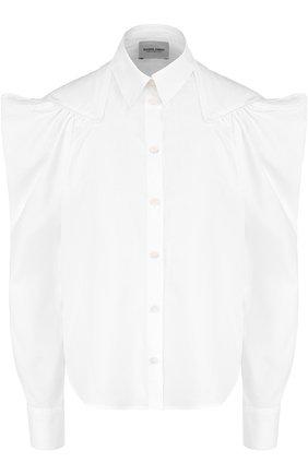 Женская хлопковая блуза с рукавом-фонарик Rachel Comey, цвет белый, арт. 47-306 CRISP в ЦУМ | Фото №1