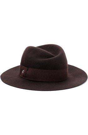 Шерстяная шляпа с лентой | Фото №1