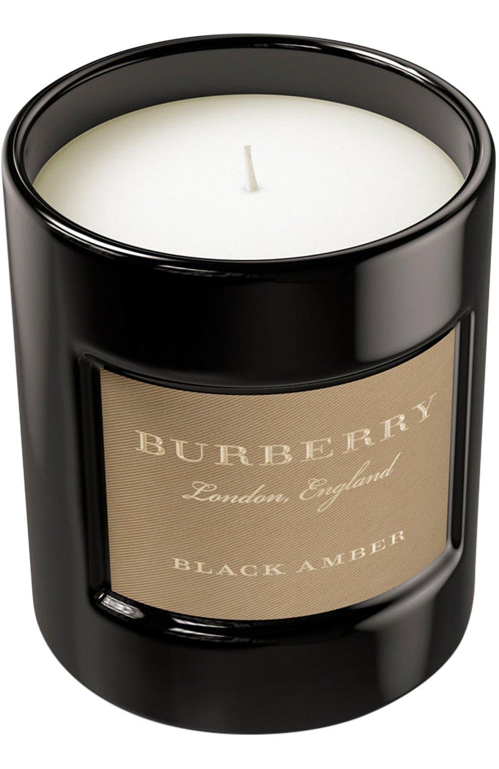 Свеча ароматизированная Black Amber | Фото №1