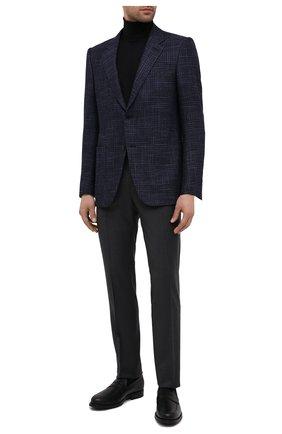 Мужские кожаные пенни-лоферы TOD'S черного цвета, арт. XXM0ZF0Q920PLSB999 | Фото 2