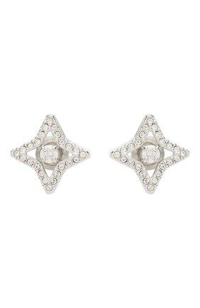 Серьги Sparkling Dc Swarovski серебряные | Фото №1
