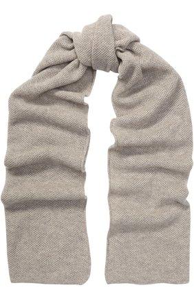 Вязаный шарф из смеси шерсти и кашемира | Фото №1