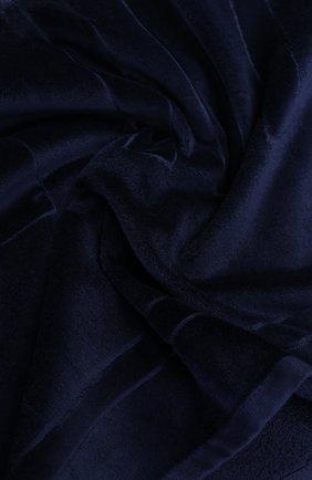 Мужские пляжное полотенце VILEBREQUIN темно-синего цвета, арт. SAN/P400P | Фото 2