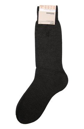 Носки из смеси шелка и кашемира   Фото №1