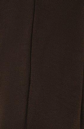 Мужские шелковые носки BRIONI коричневого цвета, арт. 0VMC/P3Z21 | Фото 2