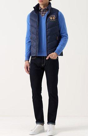 Кашемировый пуловер тонкой вязки | Фото №2