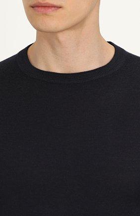 Джемпер из смеси шерсти и кашемира с шелком   Фото №5