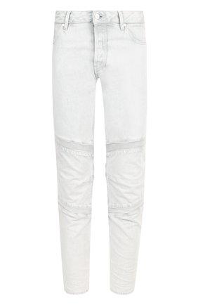Зауженные джинсы с декоративной отделкой | Фото №1