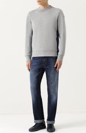 Хлопковый свитшот с карманами | Фото №2
