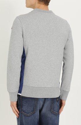 Хлопковый свитшот с карманами | Фото №4