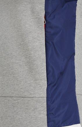 Хлопковый свитшот с карманами | Фото №5