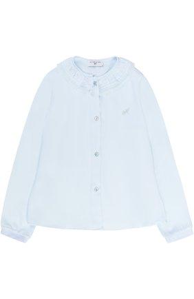 Блуза с декоративным воротником | Фото №1