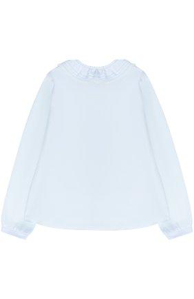 Блуза с декоративным воротником | Фото №2