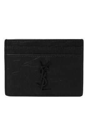 Кожаный футляр для кредитных карт с тиснением | Фото №1