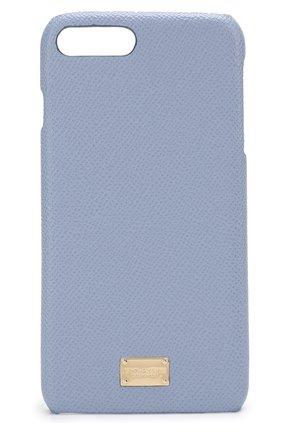 Кожаный чехол для iPhone 7 Plus Dolce & Gabbana    Фото №1
