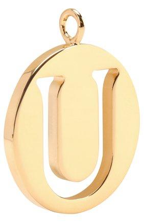 Женские подвеска для сумки alphabet key CHLOÉ золотого цвета, арт. 3K000U/CB7 | Фото 2